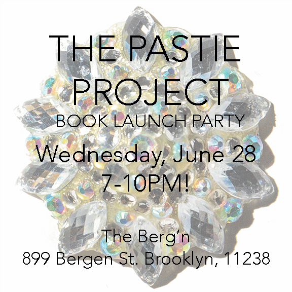 Pastie Project Book Launch insta flier