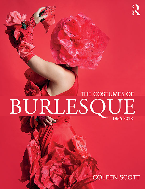 the costumes of burlesque cover web